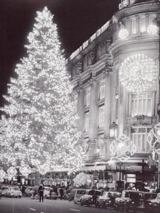 L'avet de Nadal de Can Jorba, al Portal de l'Àngel,1970