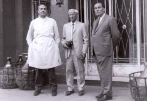 Sir Alexander Fleming inaugurant l'IMIM a l'Hospital del Mar. 1948