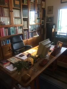 El despatx de l'escriptor